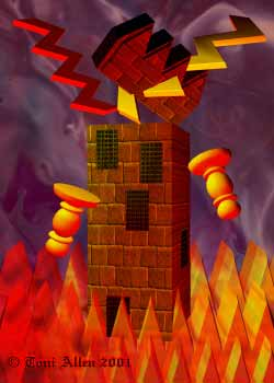 Tarot card meanings The Tower