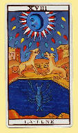 Marseille Tarot - The Moon