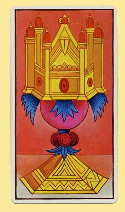Tarot Card Meanings- Ace Of Cups Interpretation